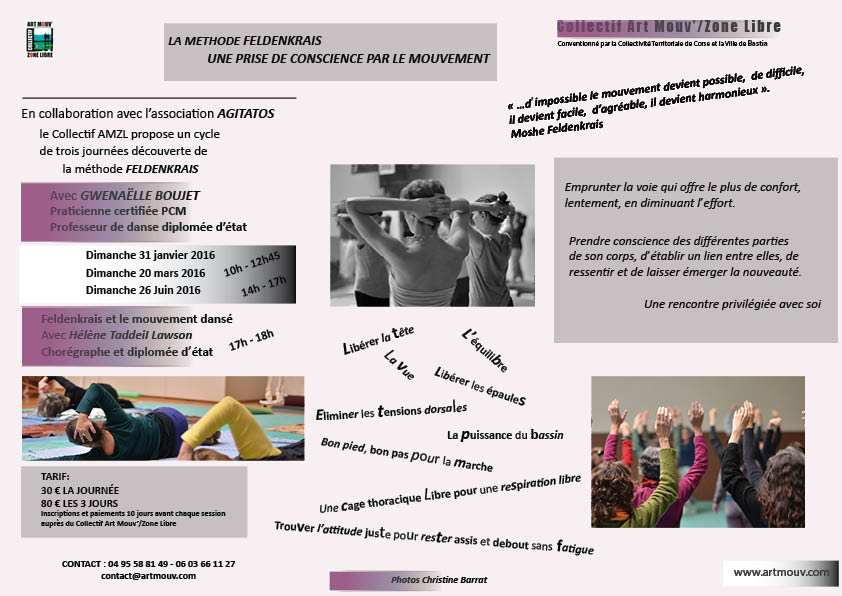 Sessions feldenkrais